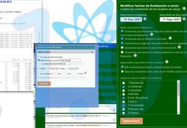 Sislander 21.05 :: Control total y ágil administración de las Conexiones de Usuario